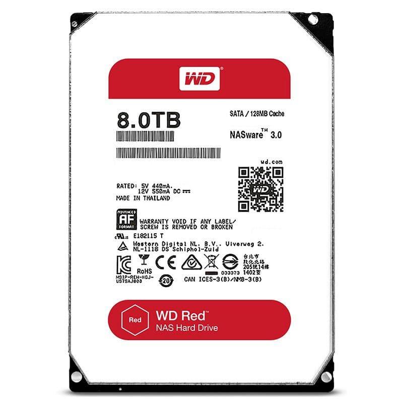 Western Digital Red 8TB NAS SATA HDD NAS