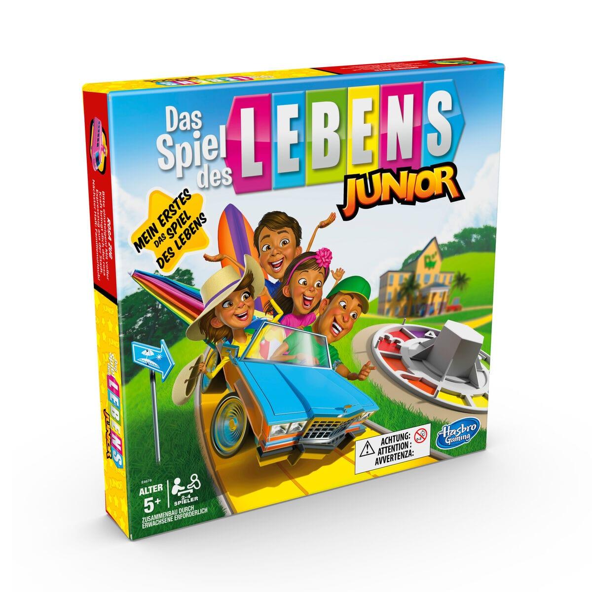 Hasbro Gaming Das Spiel des Lebens Junior (DE) Gesellschaftsspiel