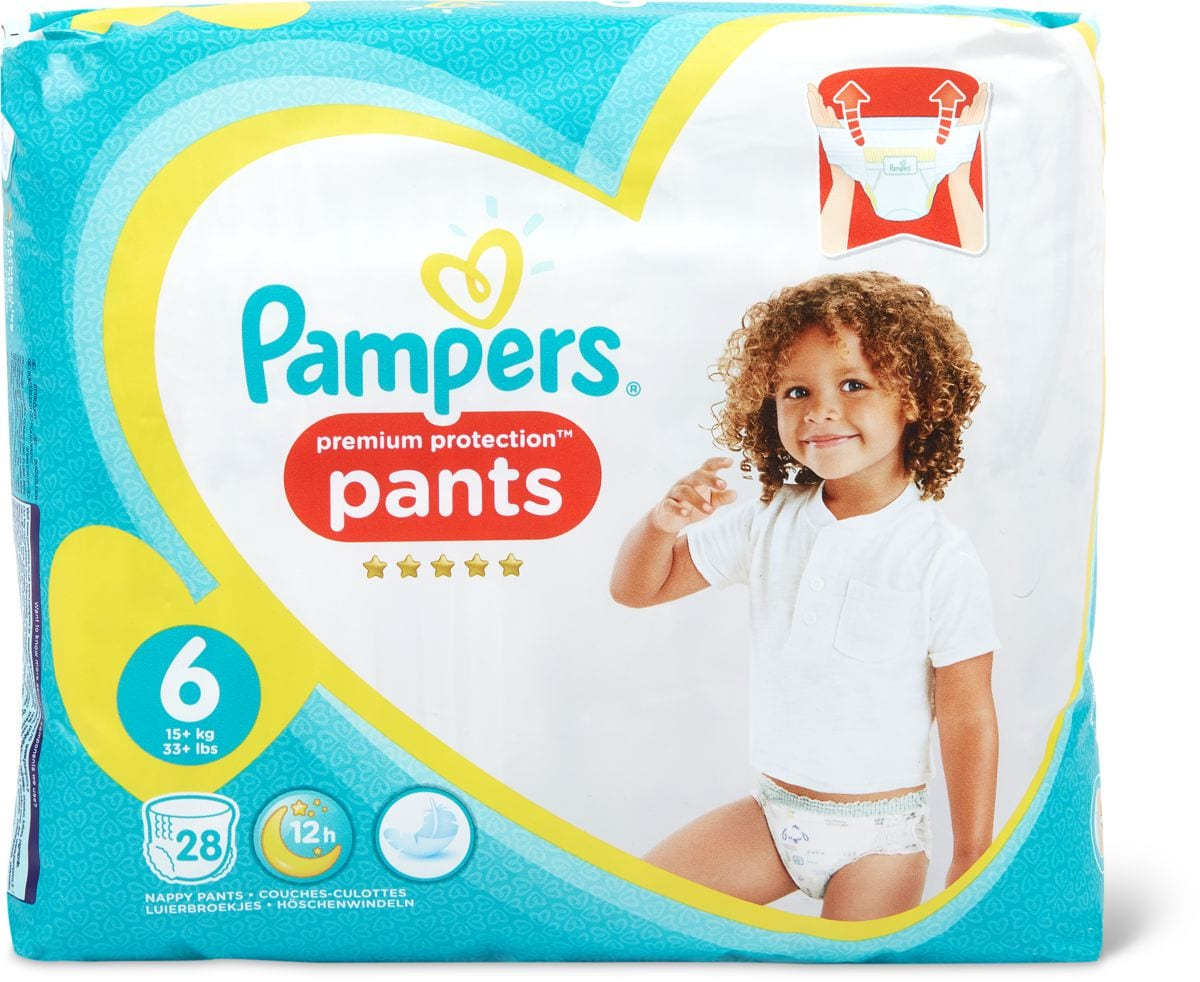 Pampers Premium Protection Pants XL Gr. 6, 15+kg