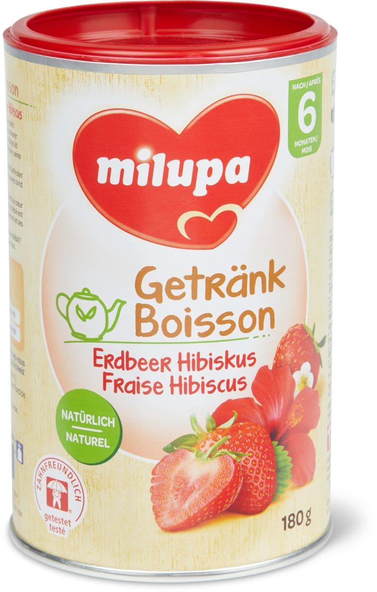 Milupa Erdbeer Hibiskus Getränk