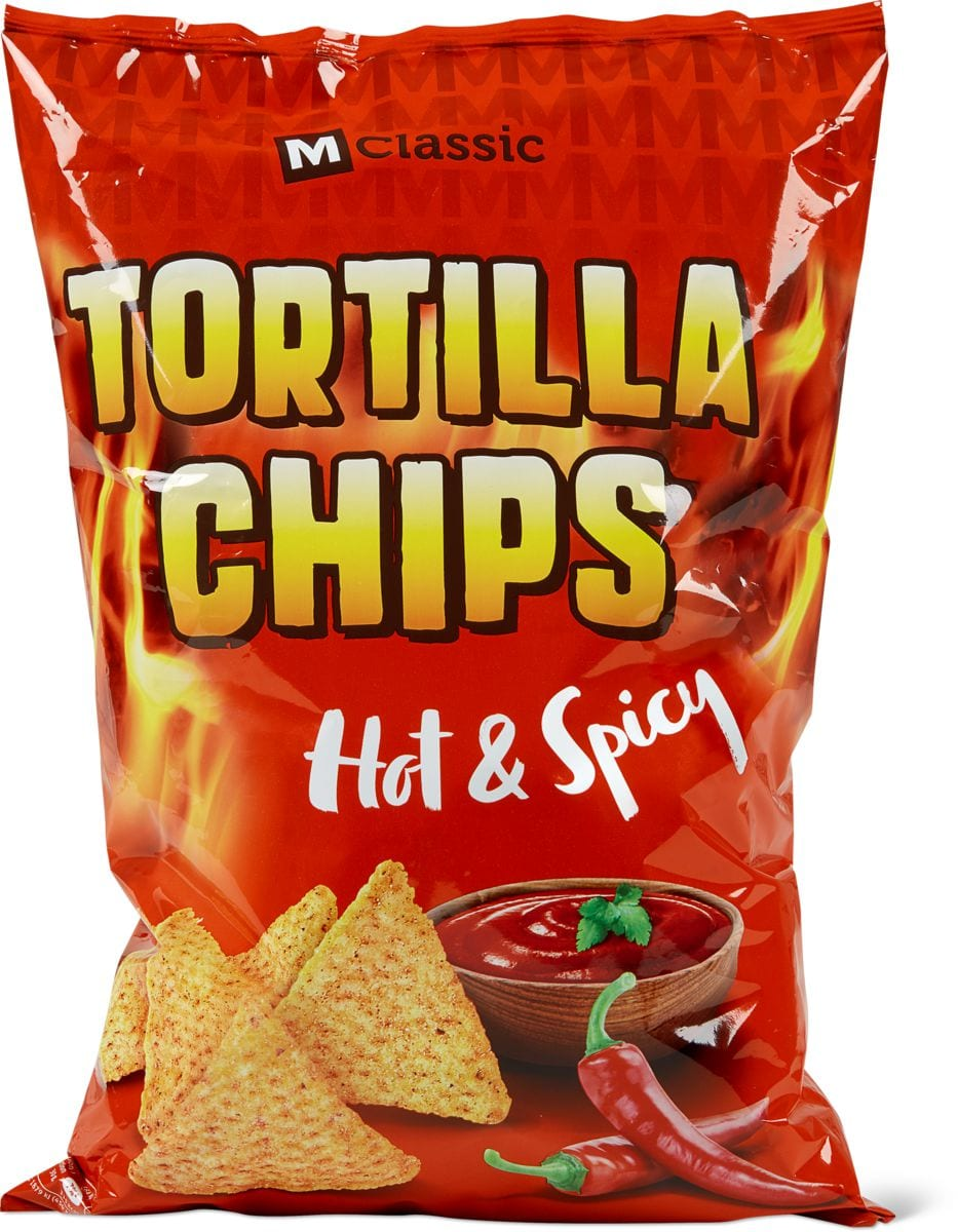 M-Classic Tortilla Chips Hot & Spicy