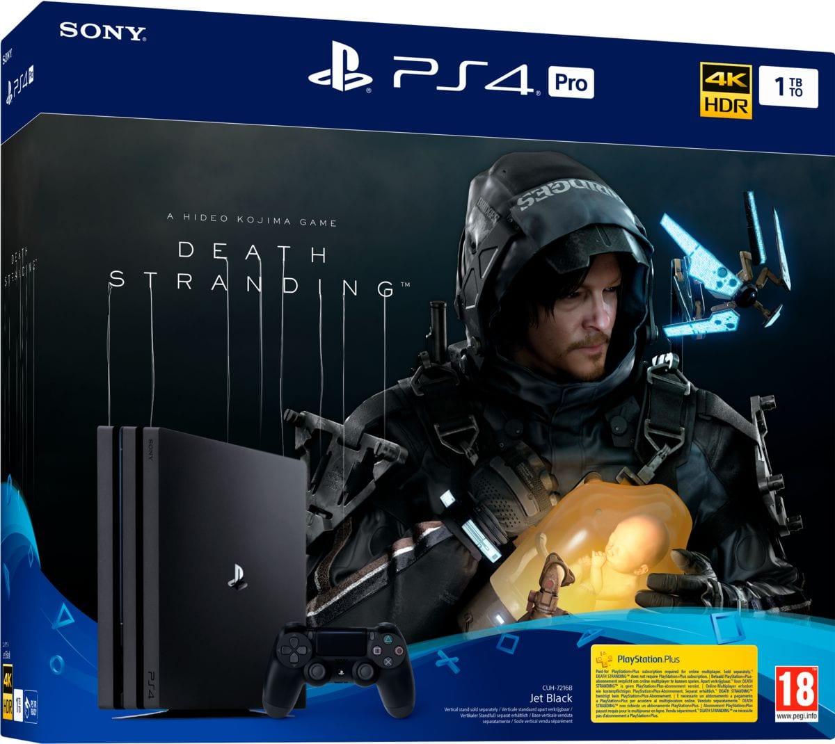 Sony PlayStation 4 1TB PRO + Death Stranding Bundle
