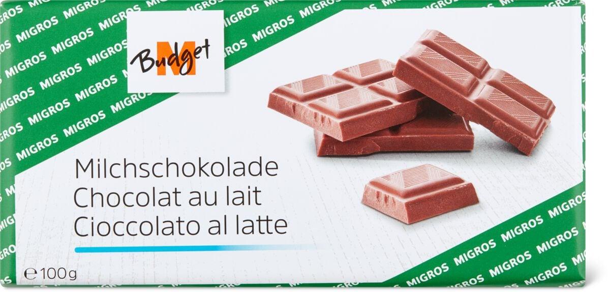 M-Budget Milchschokolade
