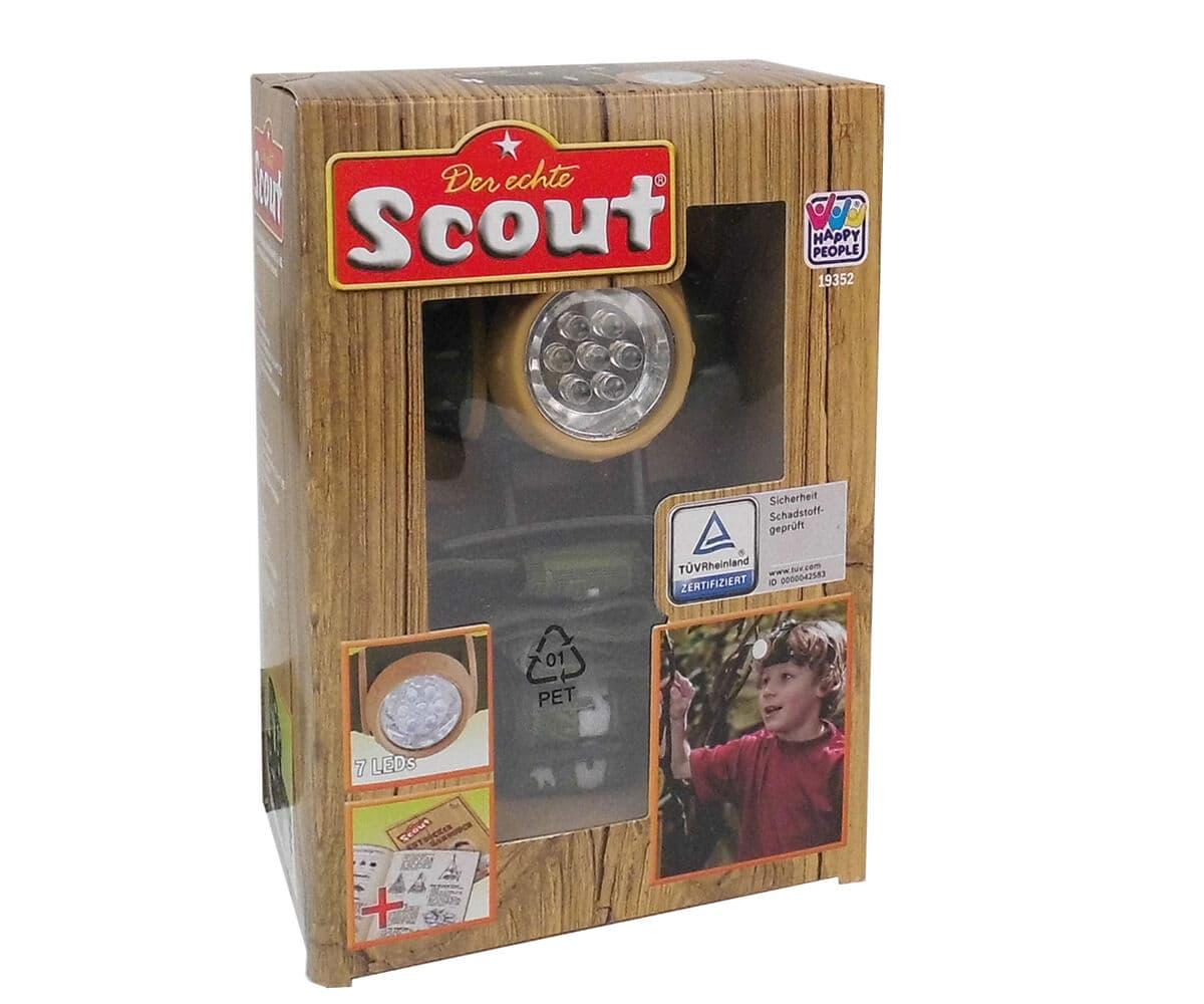 Scout Stirnlampe Rollenspiel