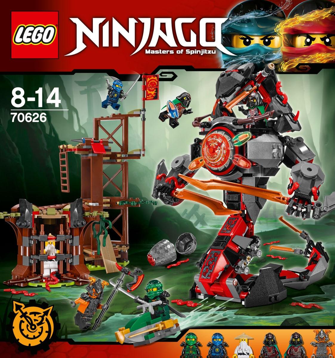 Lego ninjago verh ngnisvolle d mmerung 70626 migros - Ninjago les 4 armes d or ...