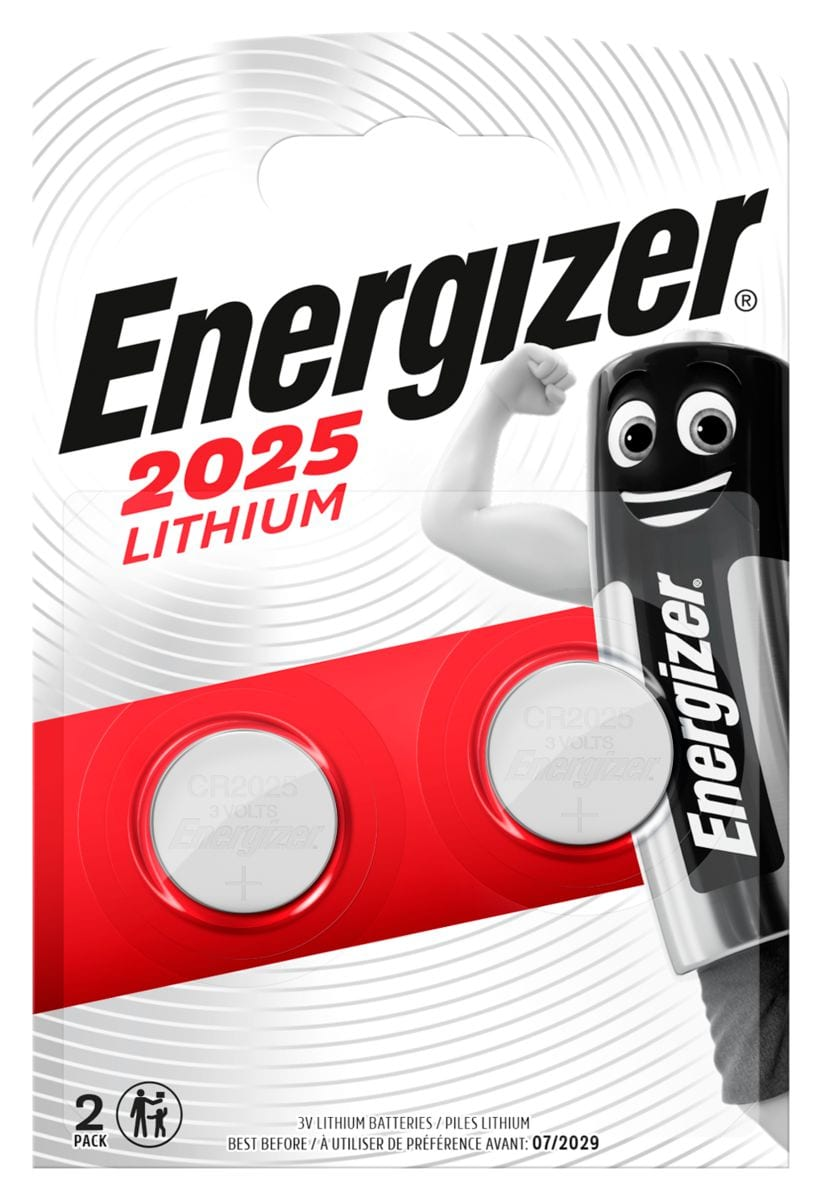 Energizer CR2025 (2Stk.) Knopfzelle
