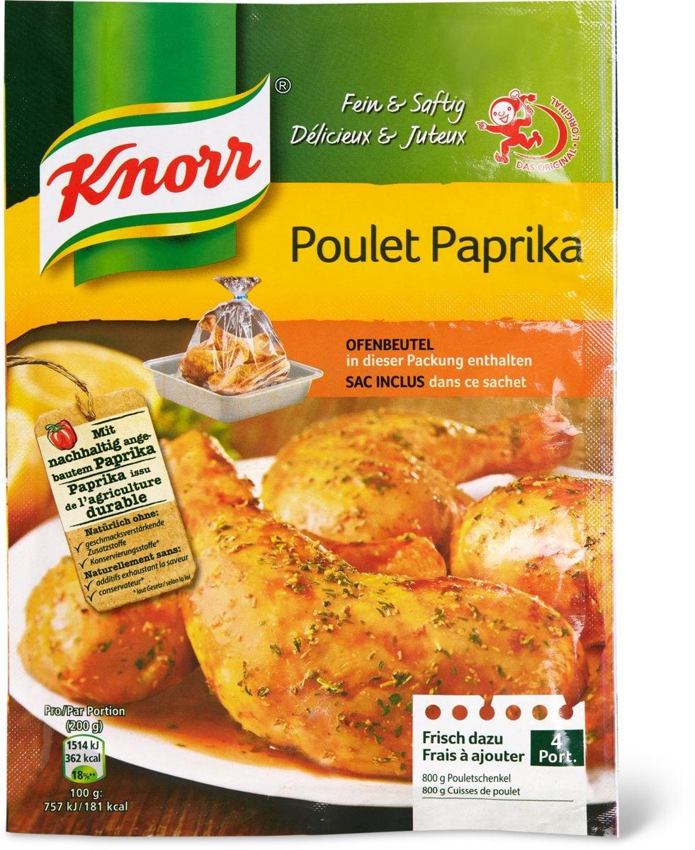 Knorr sacchetto di cottura con paprica