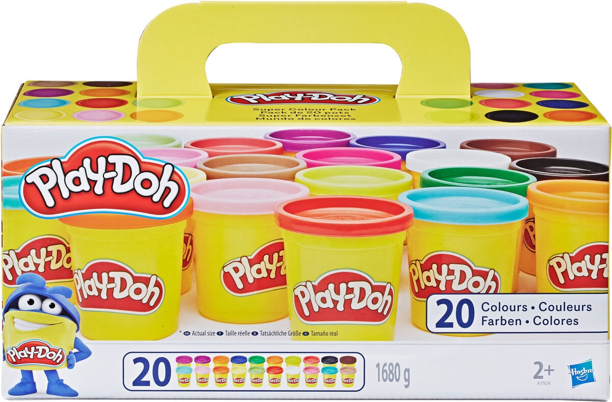 Play-Doh Super Farbenset 20-er Pack Modelieren