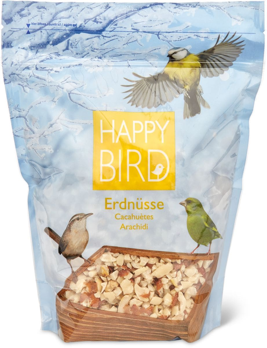 Happy Bird Erdnüsse