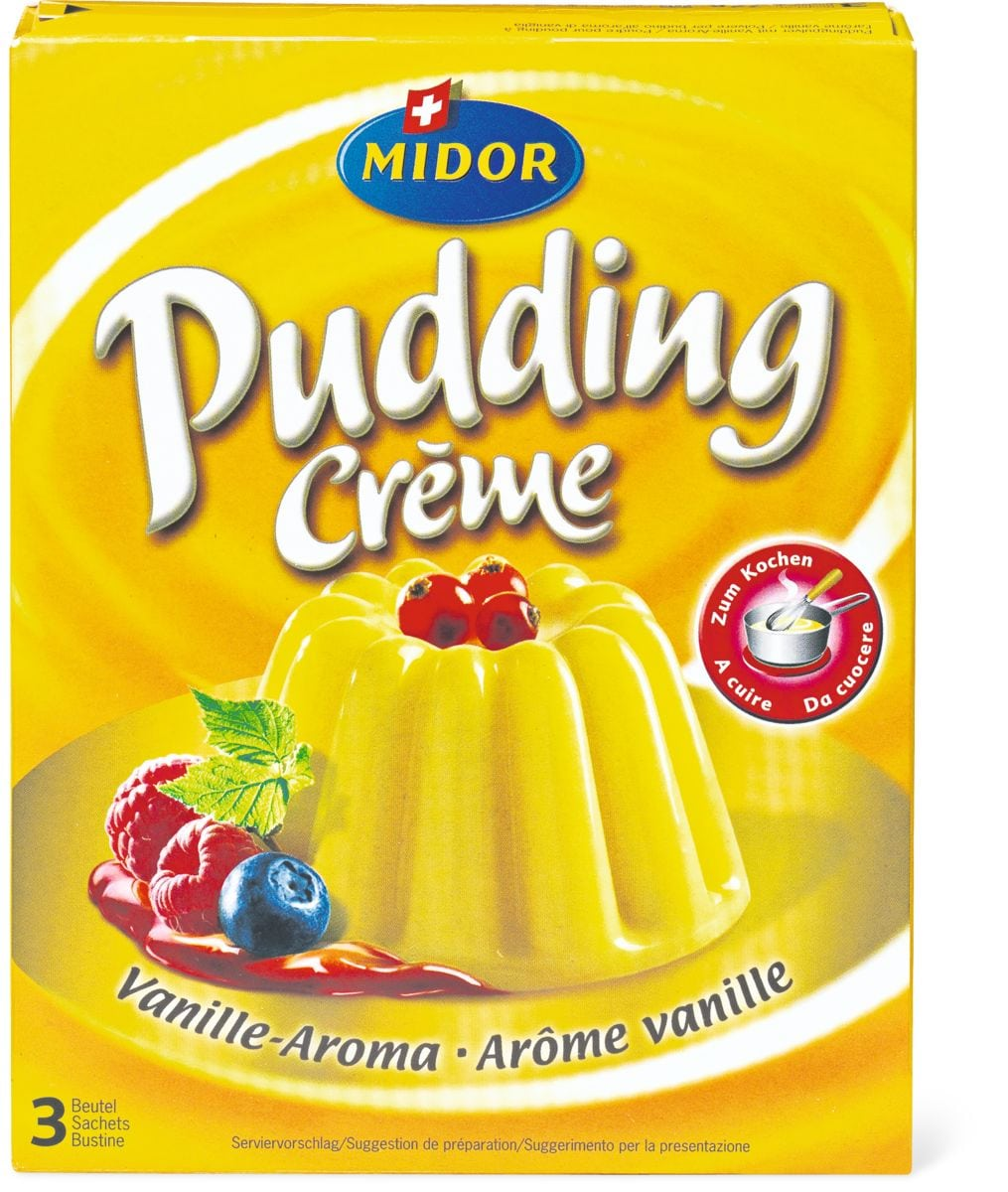 Pudding Crème Arôme vanille