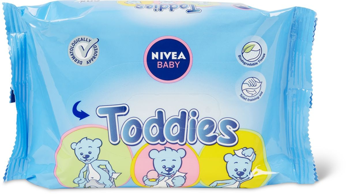 Nivea Baby Toddies Refill lingettes