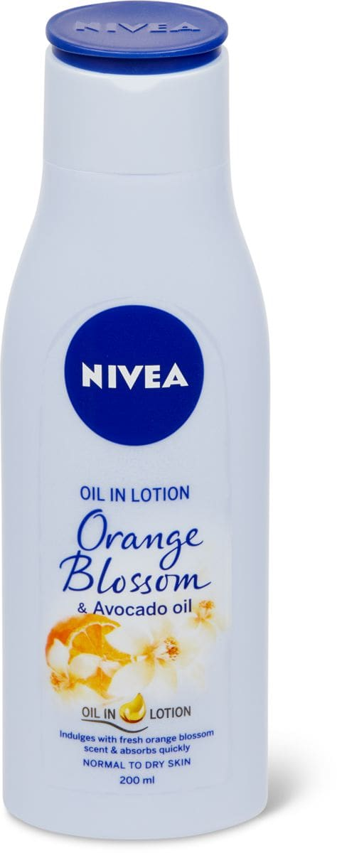 Nivea Sensual Body Lotion Orange