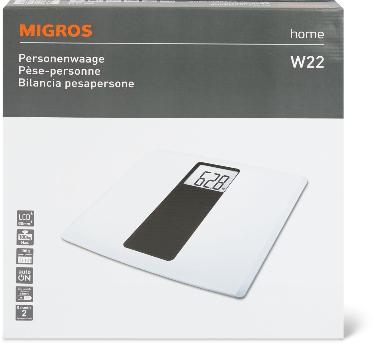 Personenwaage   Migros