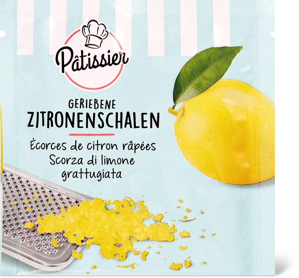 Patissier Scorza di limone grattugiata