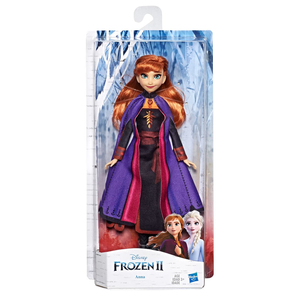 Disney Frozen II Anna Puppe mit Outfit Puppe