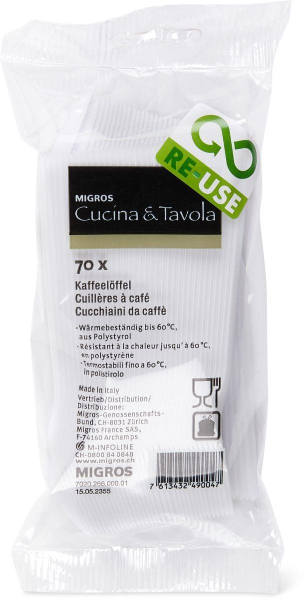 Cucina & Tavola Cucchiaini da caffè, 70 pezzi