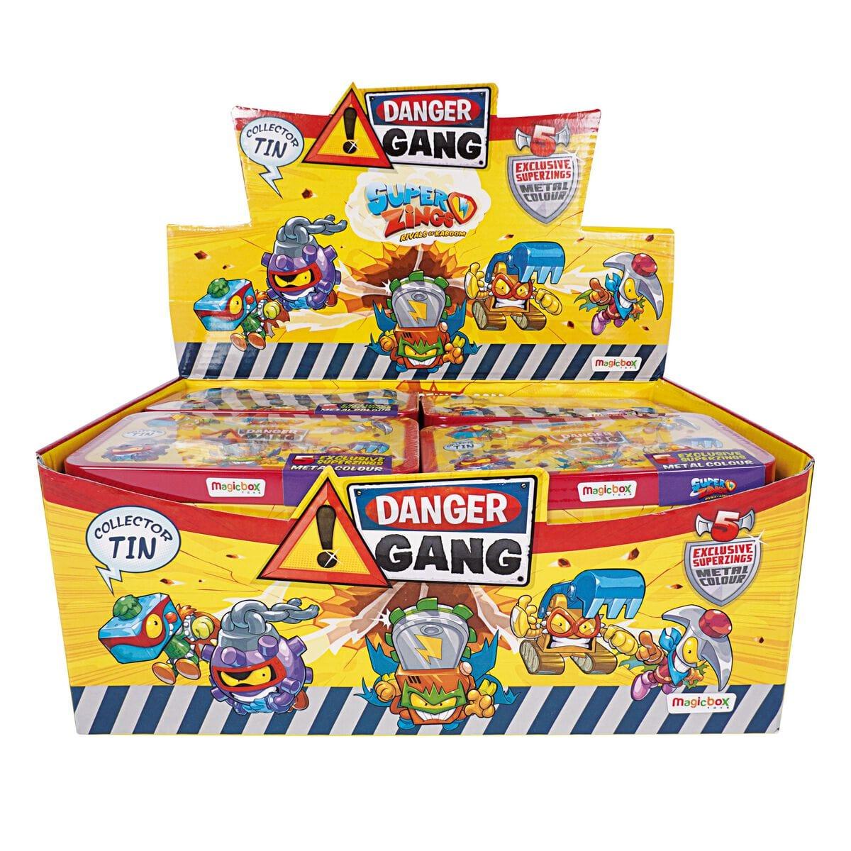 Superzings S 8 Danger Gang Spielset