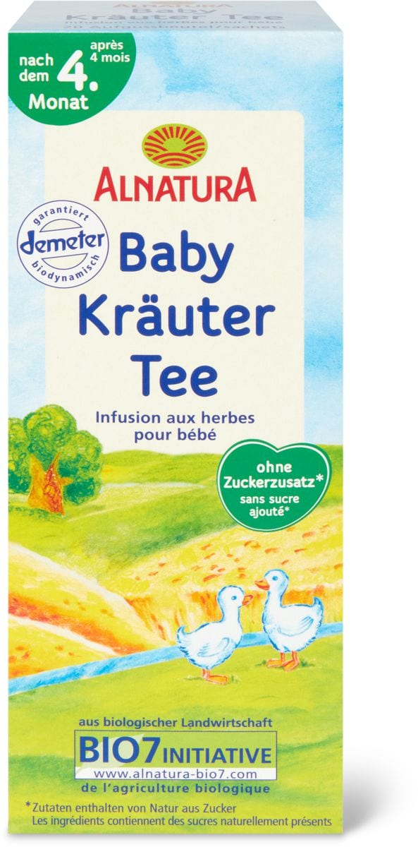 Alnatura infusion herbes pr bébé