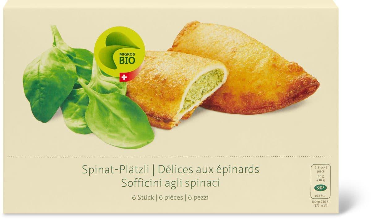 Bio Spinat-Plätzli