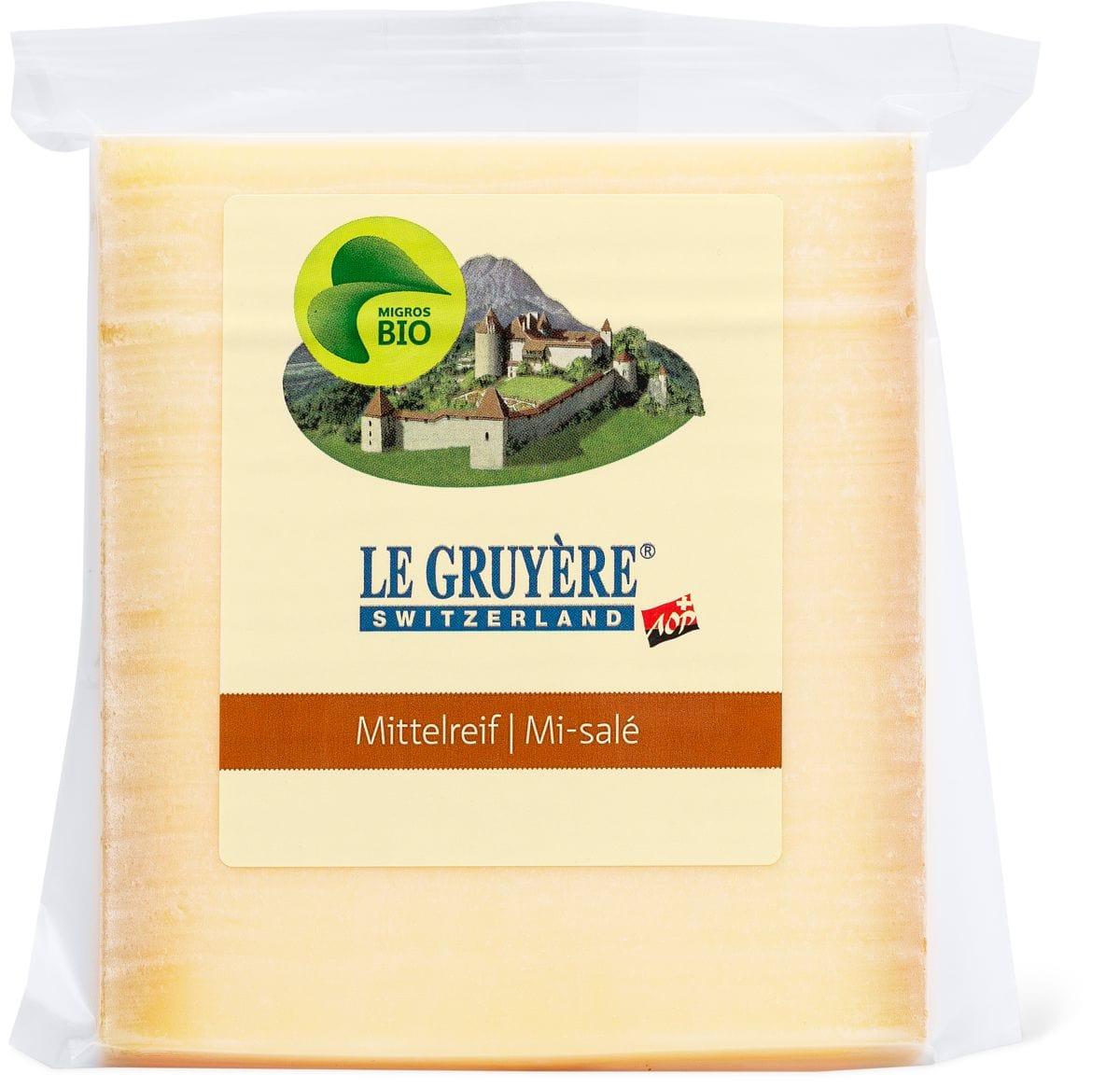 Bio-Le Gruyère mittelreif