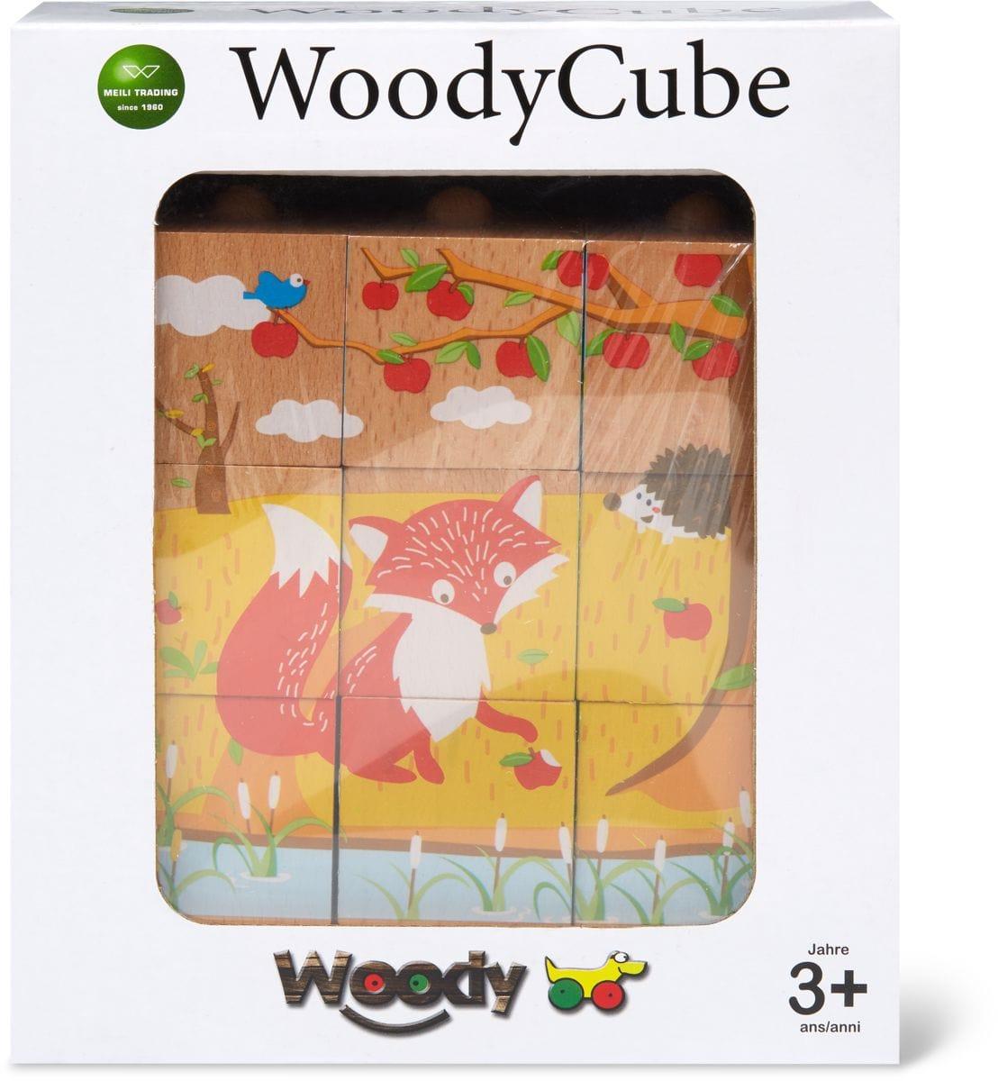 Woody Puzzle cubii in legno  (FSC®)