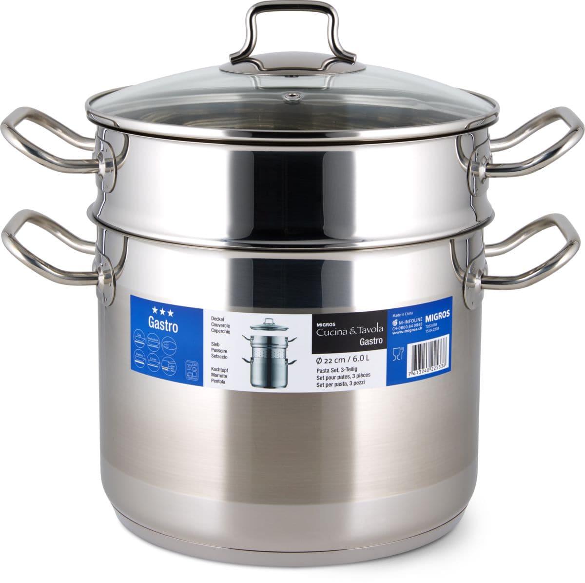 Cucina & Tavola GASTRO Set pour pâtes