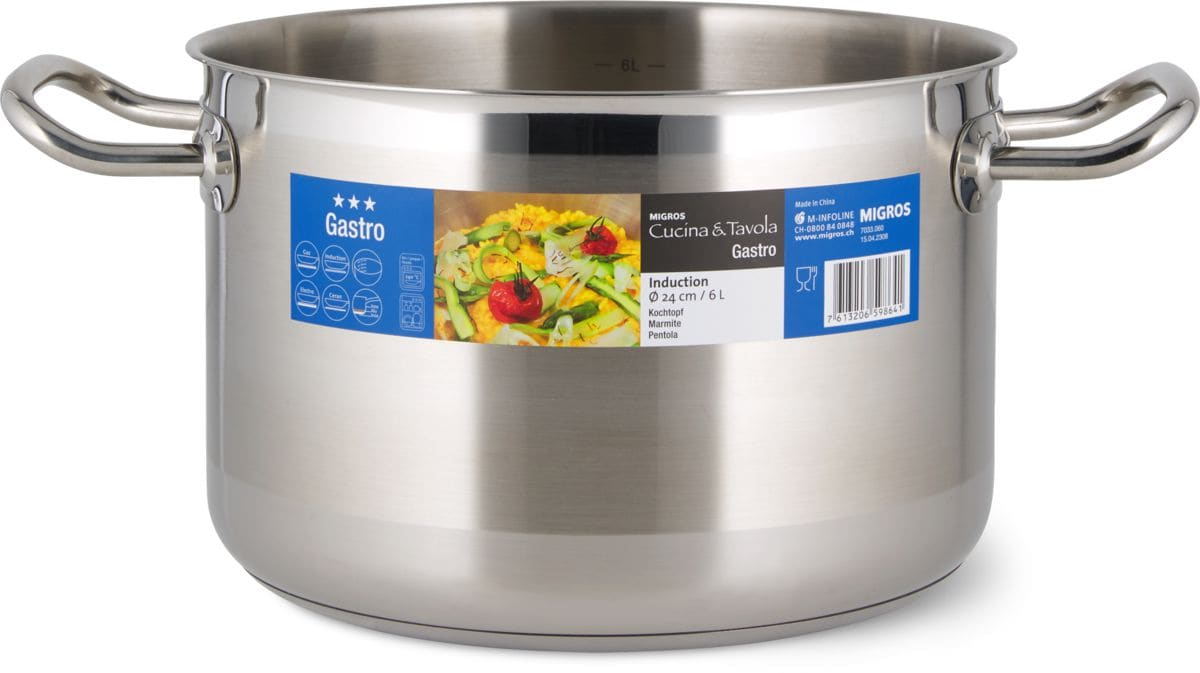 Cucina & Tavola GASTRO Marmite 24cm 6.0L