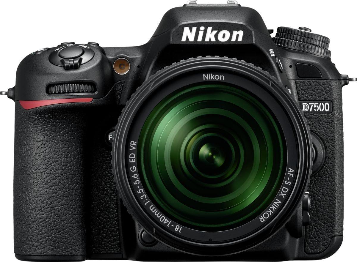 Nikon D7500 AF-S DX 18-140 mm VR Kit fotocamera reflex