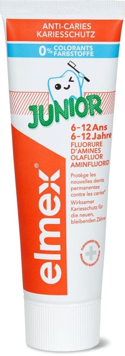 Elmex dentifrice junior 6-12 ans