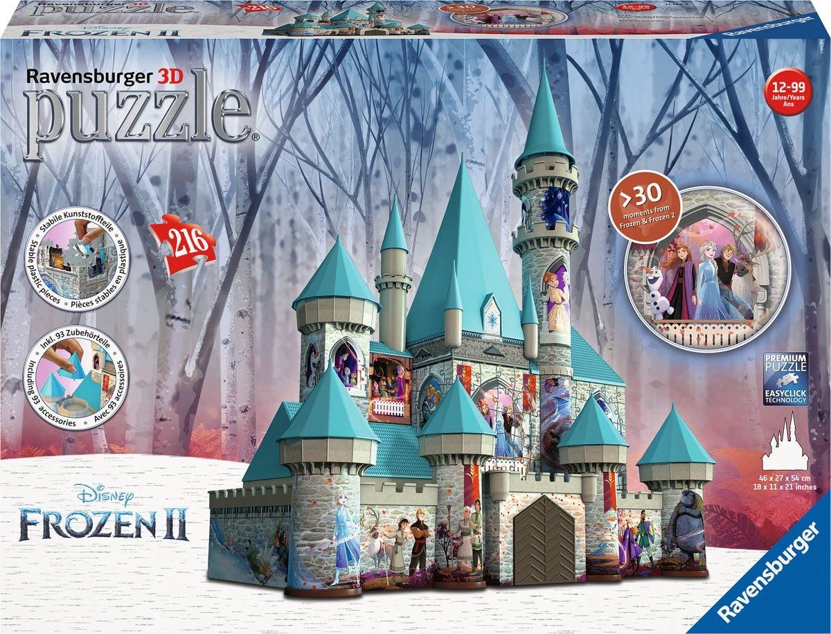 Frozen 2 Schloss 3D Puzzle
