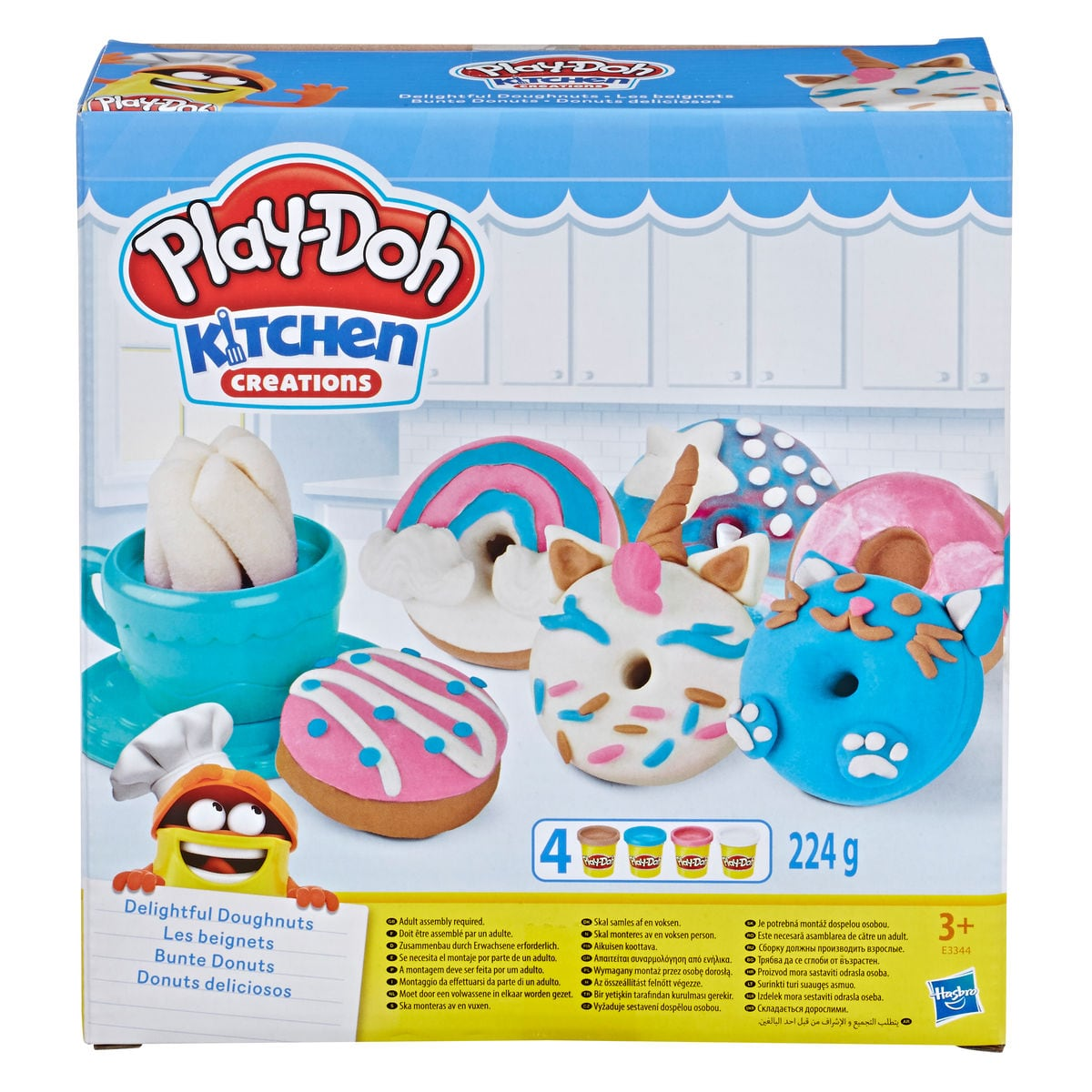 Play-Doh Bunte Donuts Modelieren