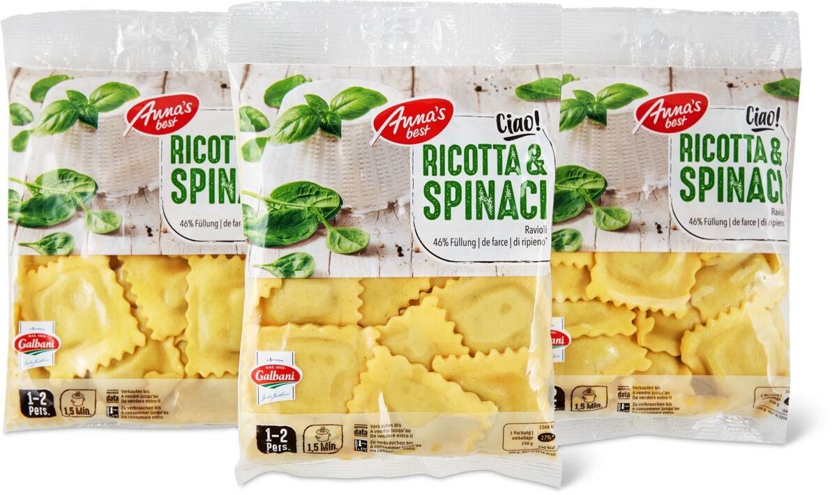 Ravioli Ricotta spinac