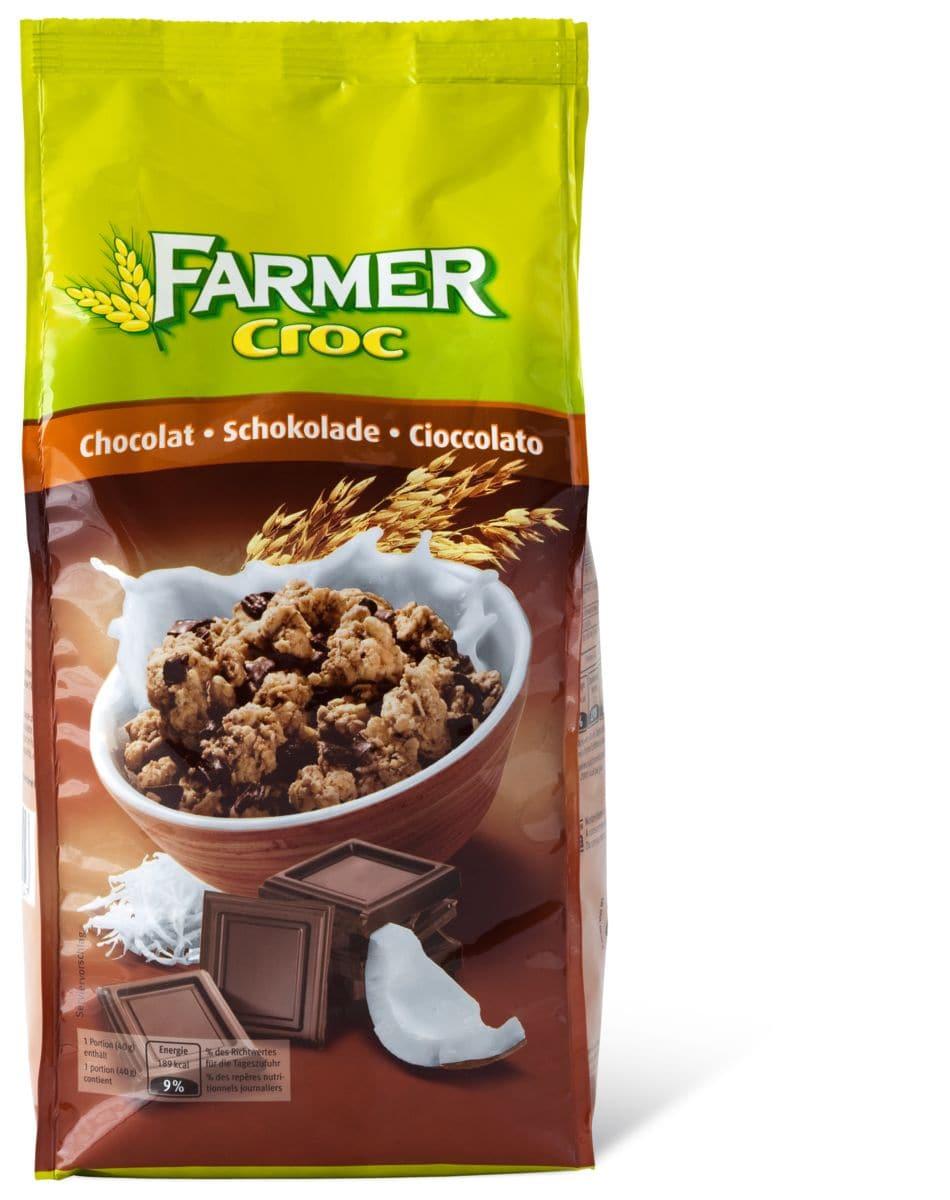 Farmer Croc Schokolade Knabbermüesli