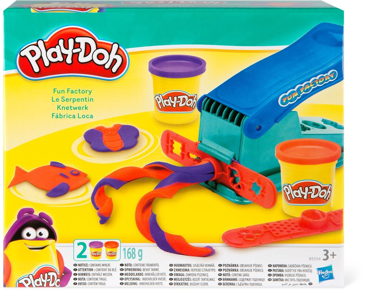 60 ans Play Doh Le serpentin