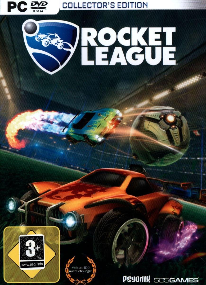 PC - Rocket League - Collector's Edition Box