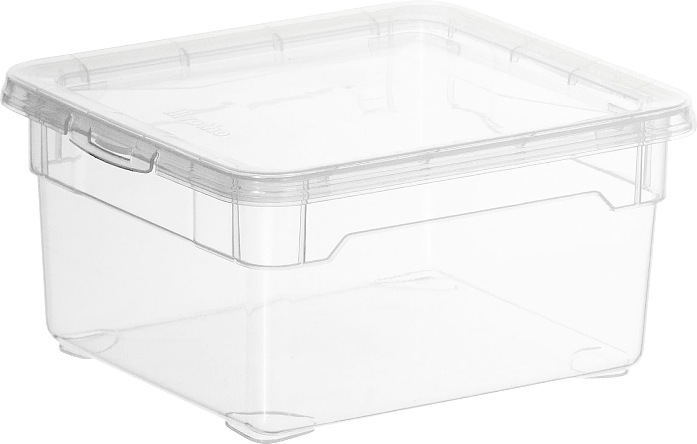 rotho clear box klein migros. Black Bedroom Furniture Sets. Home Design Ideas