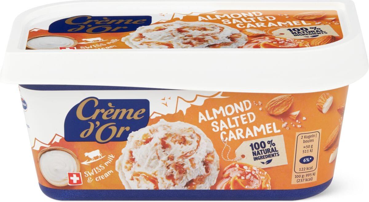 Crème d'or Almond Salted Caramel