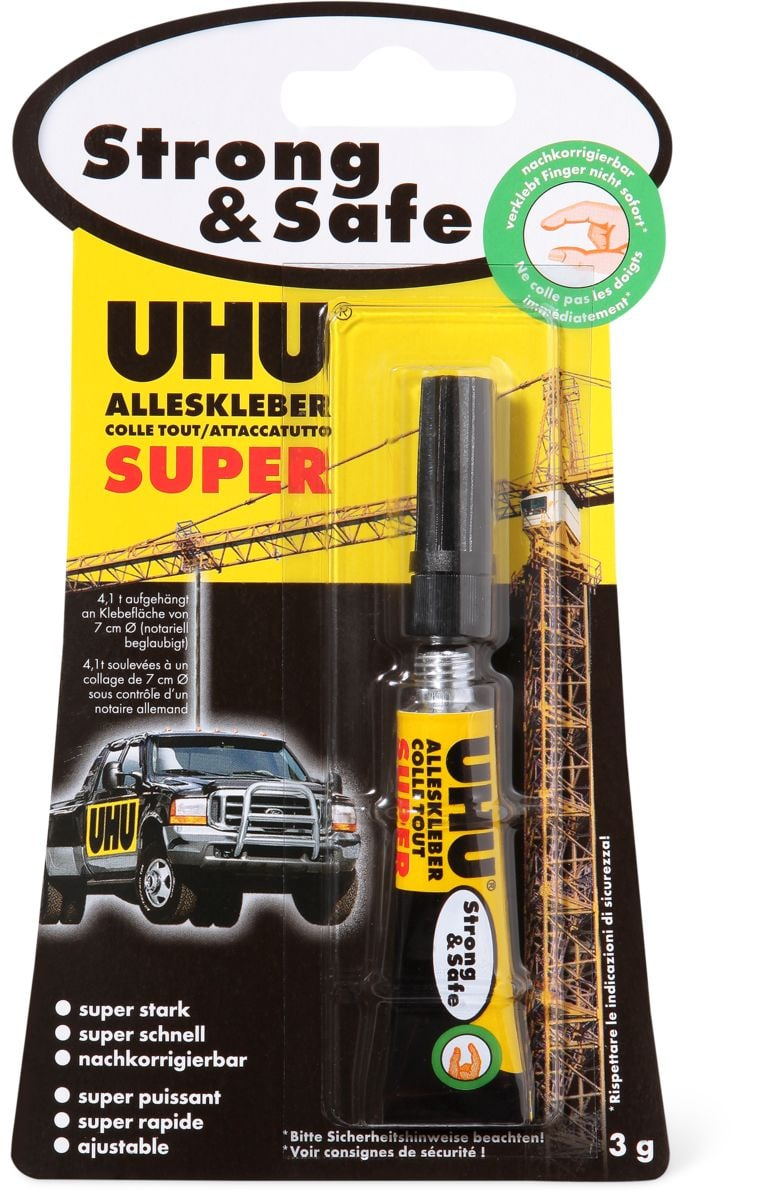 Uhu UHU incollare tutto Super Strong & Safe