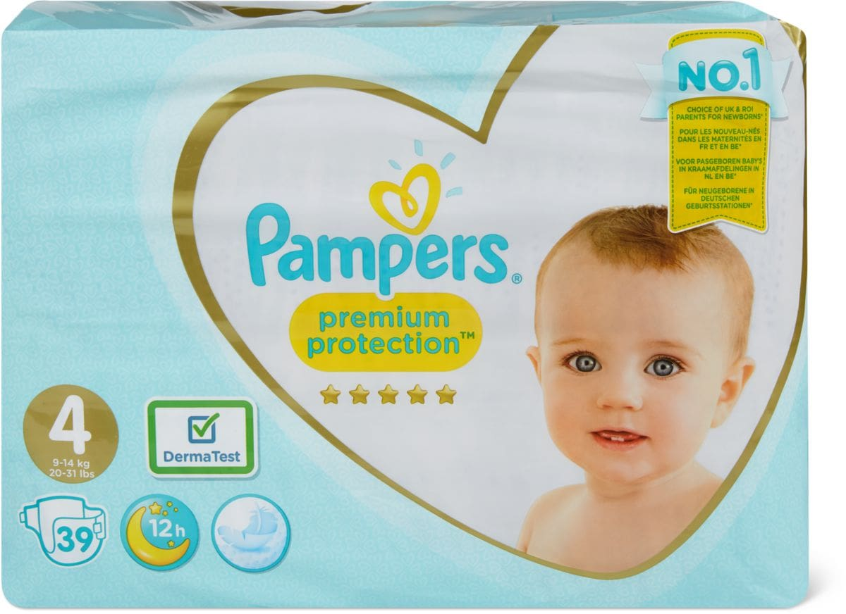 Pampers Premium Protection Gr. 4