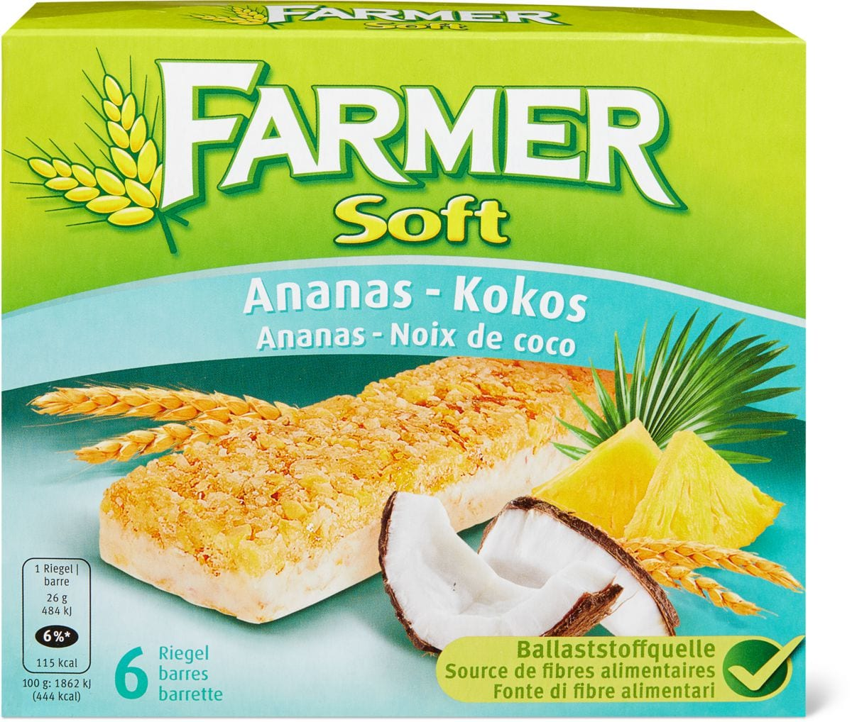 Farmer Soft Ananas-Kokos