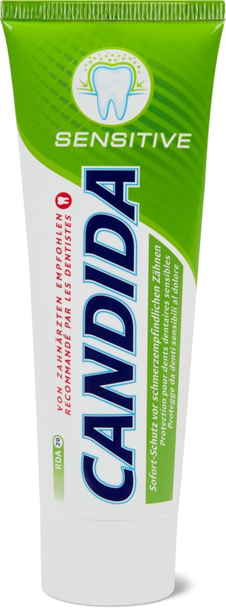 Candida dentifrice Sensitive