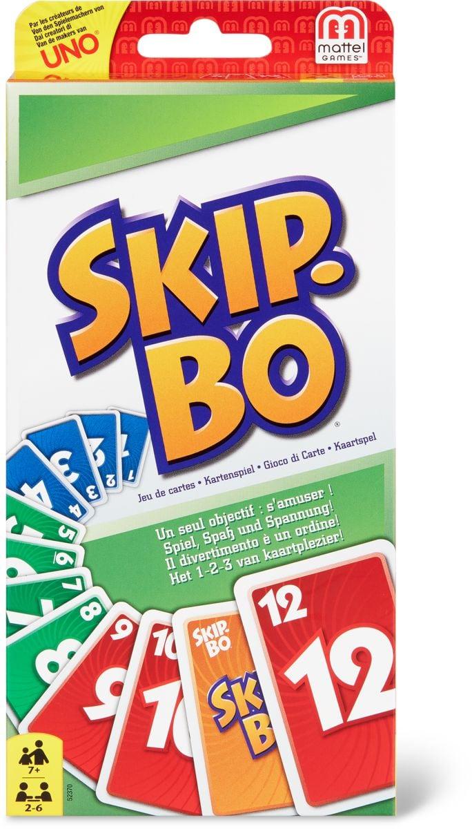 Mattel Games SkipBo Gesellschaftsspiel