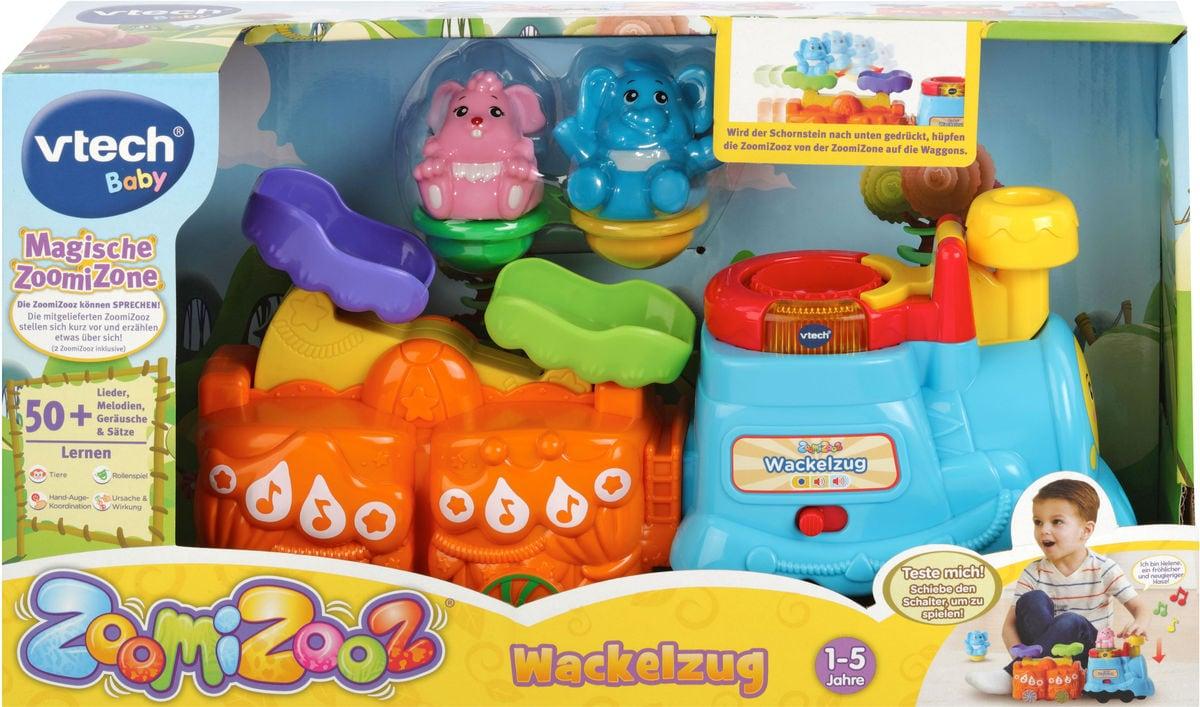 VTech Wackelzug Zoomizoos (DE) Set di giocattoli