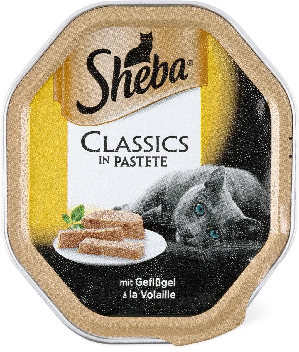 Sheba ter. classics pour chats volaille