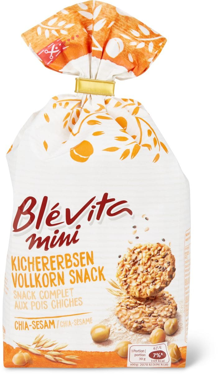 Blévita mini Chia-sesame