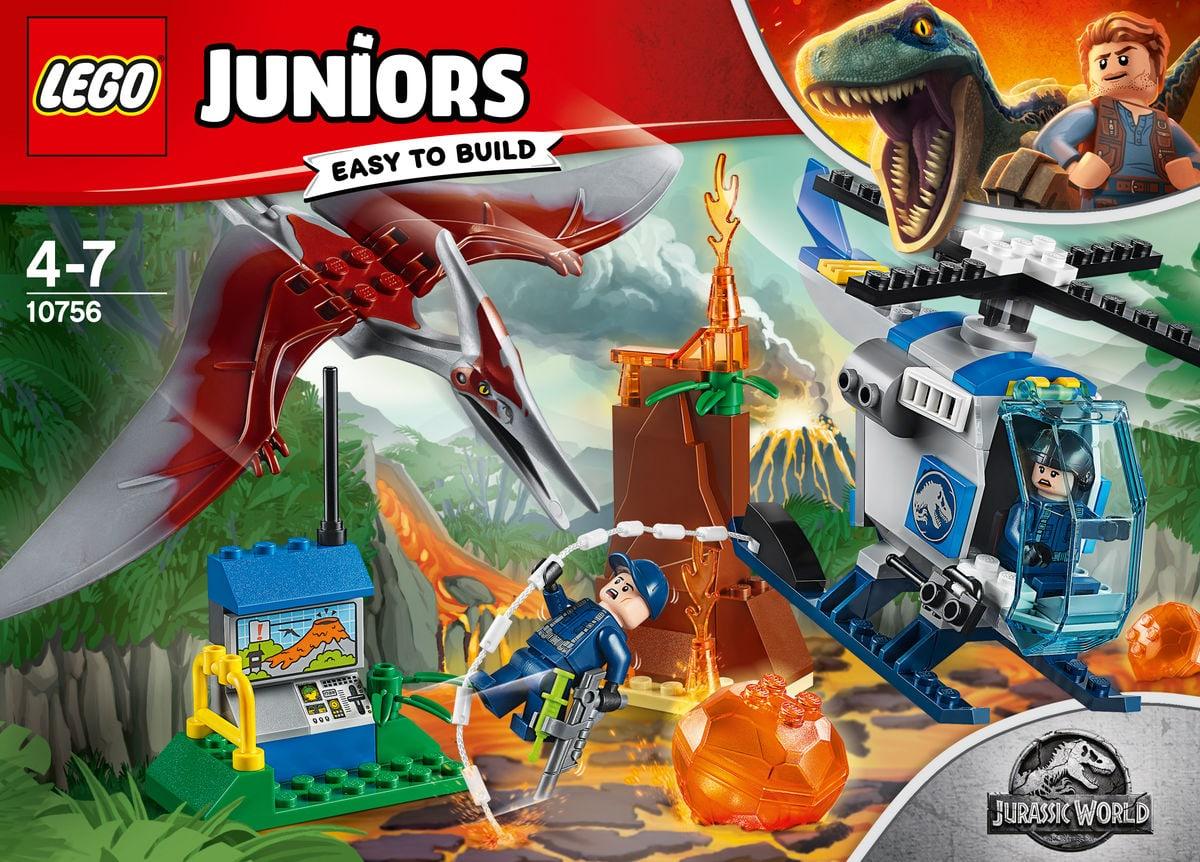Lego Juniors Flucht vor dem Pteranodon 10756