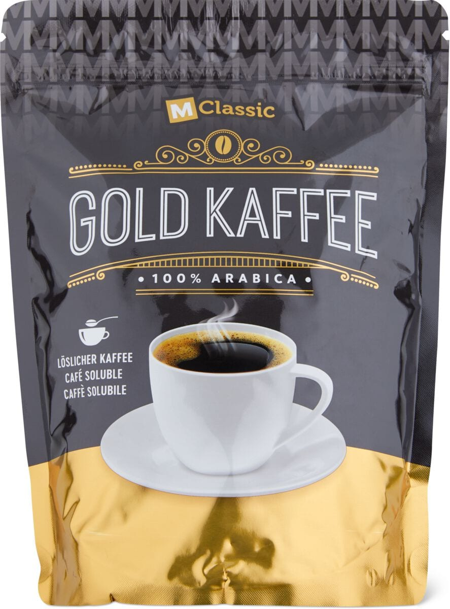 M-Classic Gold Kaffee