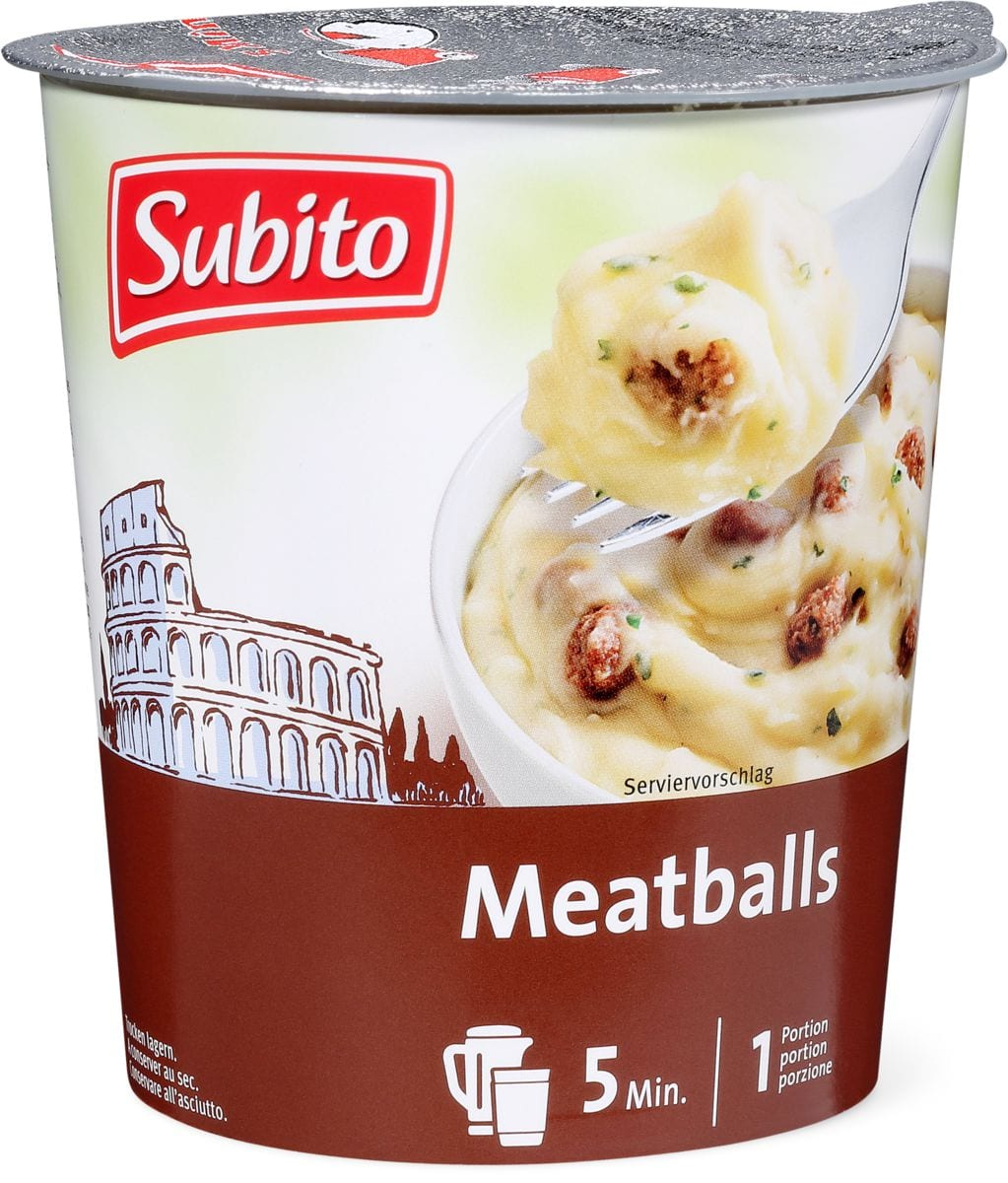 Subito Hot Snack Meatballs
