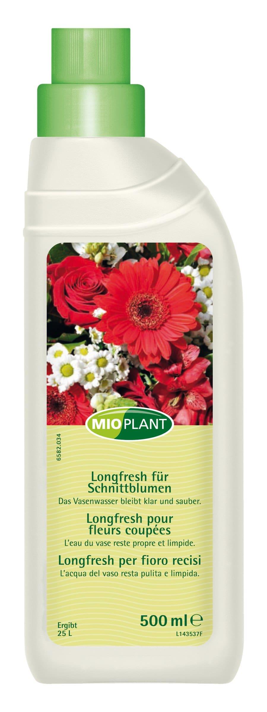 Mioplant Longfresh pour fleurs coupées