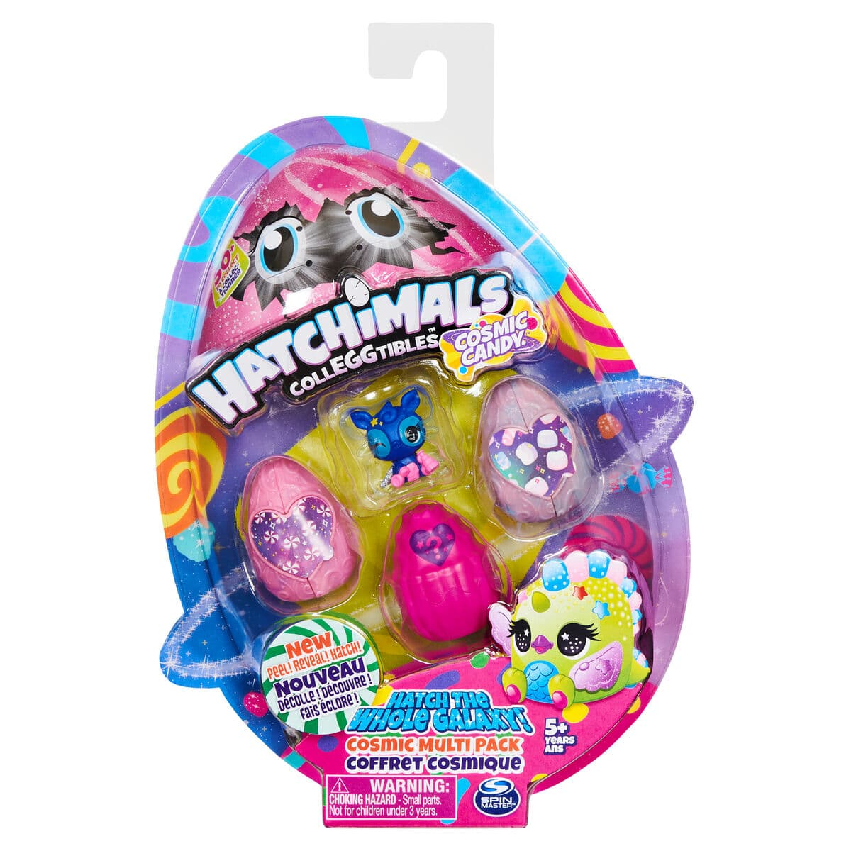 Spin Master Hatchimals Season 8 Colleggtibles 4 Pack Figure giocattolo